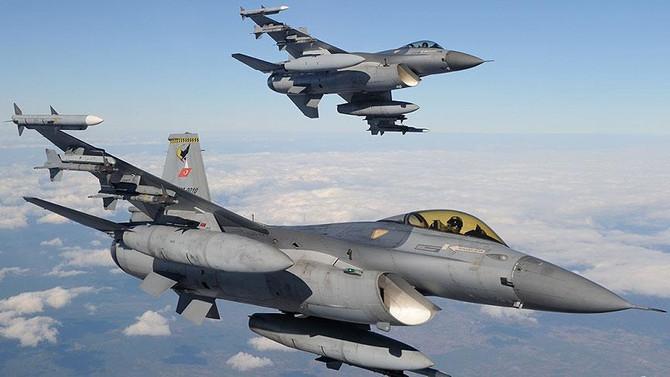 İHA'lar tespit etti, F-16'lar vurdu