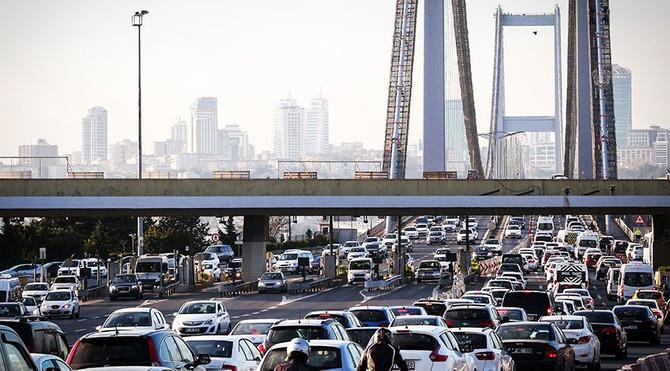 Köprü ve otoyollardan 679 milyon lira geldi