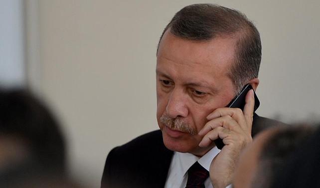 Erdoğan, Rivlin ile görüştü