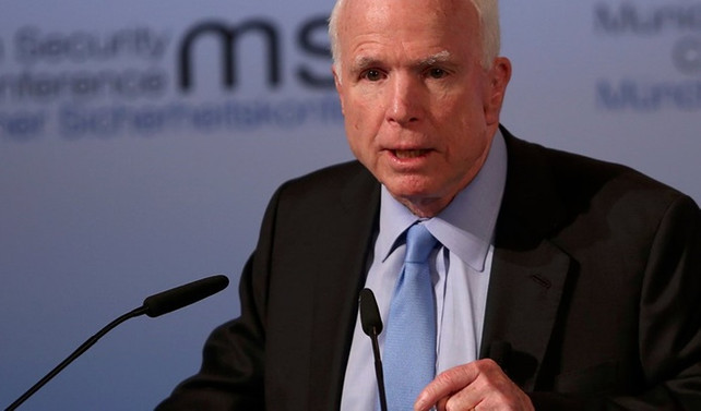 McCain'den Trump'a Suriye tepkisi
