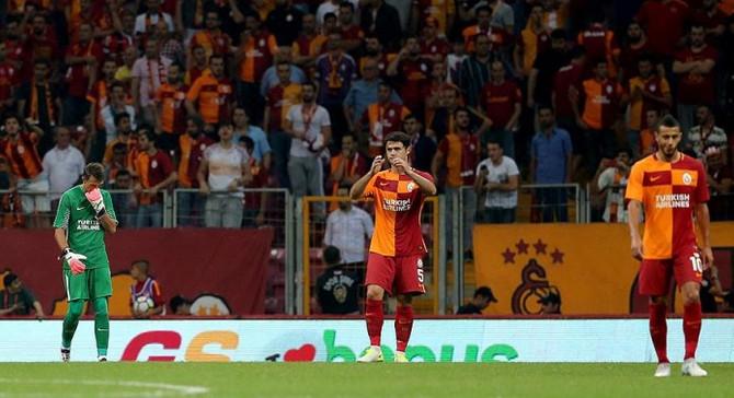 Galatasaray Avrupa'da dibe vurdu