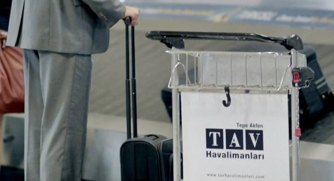TAV'dan ilk yarıda 511 milyon euro ciro