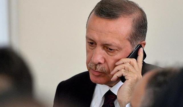 Erdoğan, Macron ile telefonda görüştü
