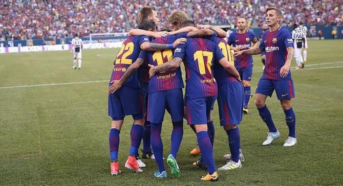 Barcelona, Şampiyonlar Kupası'nda Juventus'u yendi
