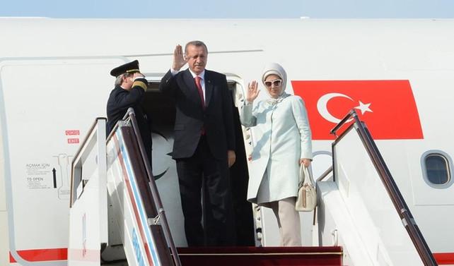 Erdoğan, Suudi Arabistan'da