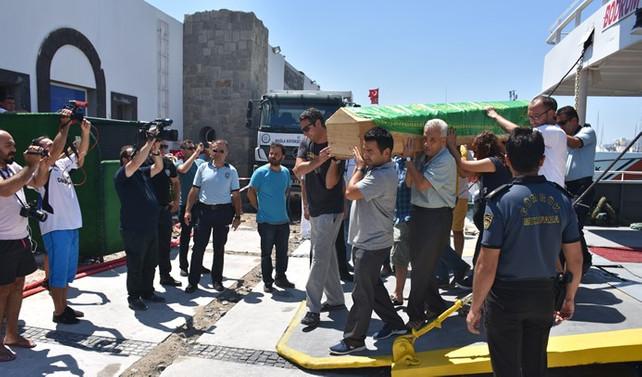 İstanköy'de hayatını kaybeden Kurtoğlu'nun cenazesi Türkiye'de