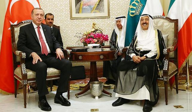 Erdoğan Kuveyt'te