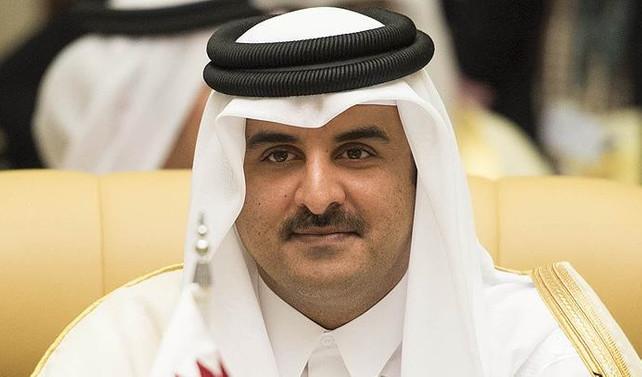 Katar Emiri Al Sani, CENTCOM komutanını kabul etti