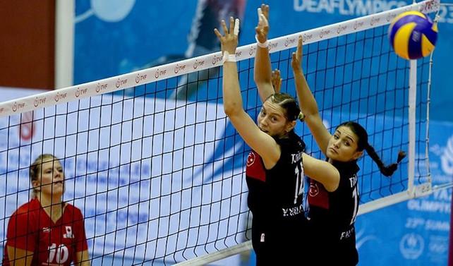 Kadın Voleybol Milli Takımı çeyrek finalde