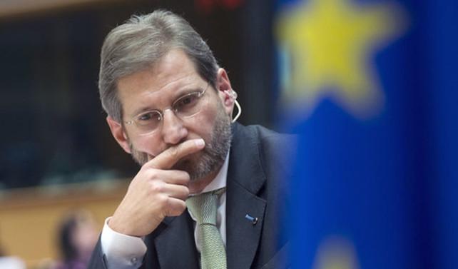 Hahn: Türkiye ile mülteci anlaşması yolunda gidiyor