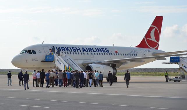 THY uçağı, Cezayir'e mecburi iniş yaptı