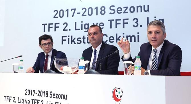 TFF 2. Lig'de fikstür çekildi