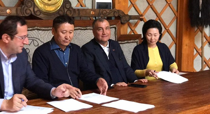 Godiva, Moğolistan'a açılıyor