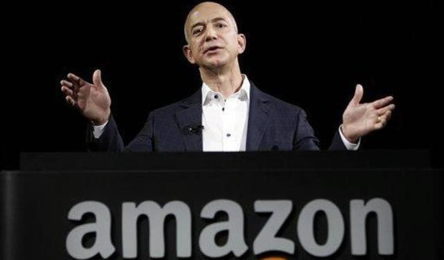 Amazon'un kurucusu 8 saatliğine dünyanın en zengini oldu