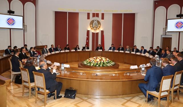 'Türkiye-Belarus işadamları platformu' kuruluyor