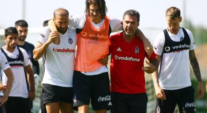 Beşiktaşlı oyuncunun ön çapraz bağları koptu