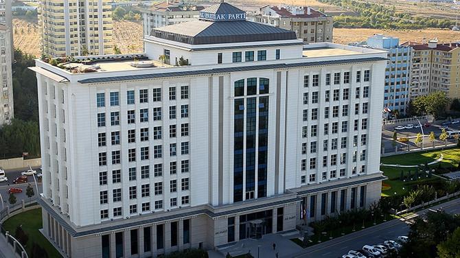AK Parti Erdoğan başkanlığında toplandı