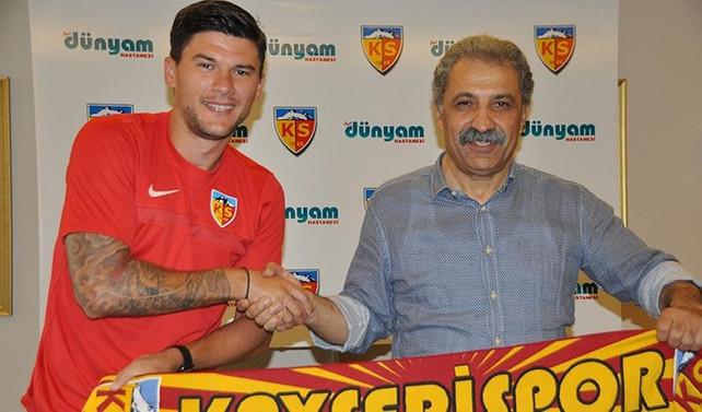Kayserispor'a Rumen defans oyuncusu