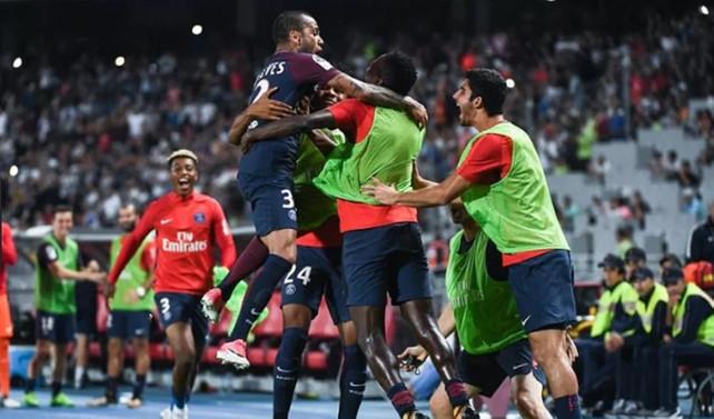 Fransa Süper Kupası Paris Saint-Germain'in