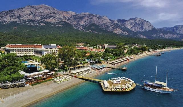 ABD'li Hilton, Antalya'ya denizden girecek