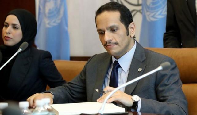 Katar'dan 'şartlı diyalog' teklifine ret