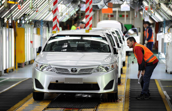 TOFAŞ'tan sonra Toyota da üretime ara verdi