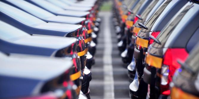 Otomotiv pazarı yılın ilk yarısında yüzde 9 daraldı