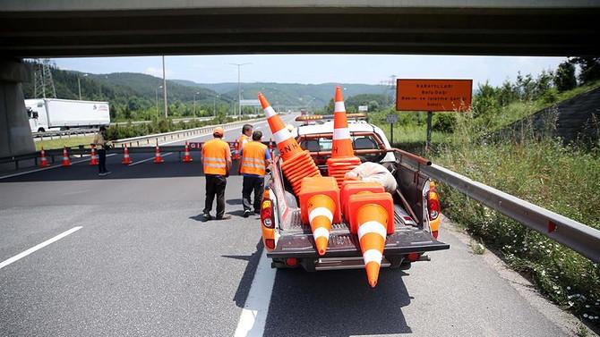 Kaynaşlı-Abant  arası ulaşıma kapatıldı