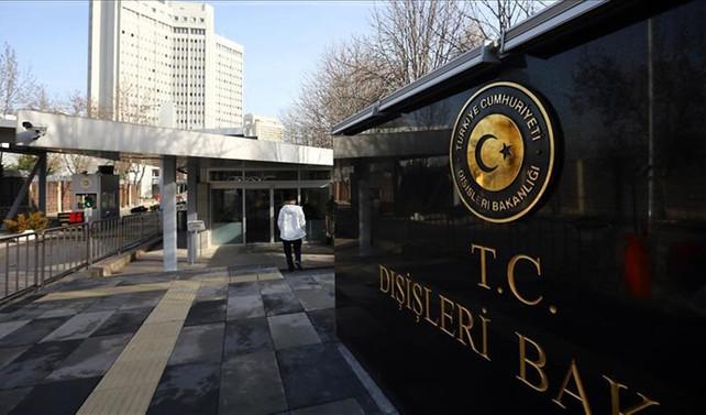 Türkiye'den Almanya'ya kınama