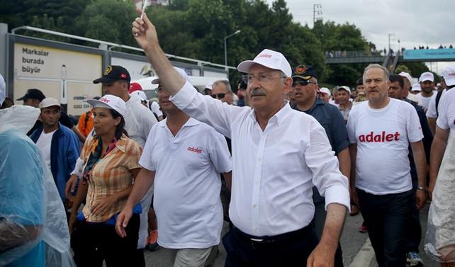 CHP, adalet yürüyüşü için Meclis araştırması talep etti