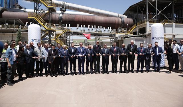 Brezilyalı çimento devi Votorantim'den Sivas'a 140 milyon euroluk yatırım