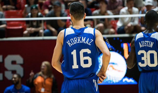 Furkan Korkmaz NBA'de ilk maçına çıktı