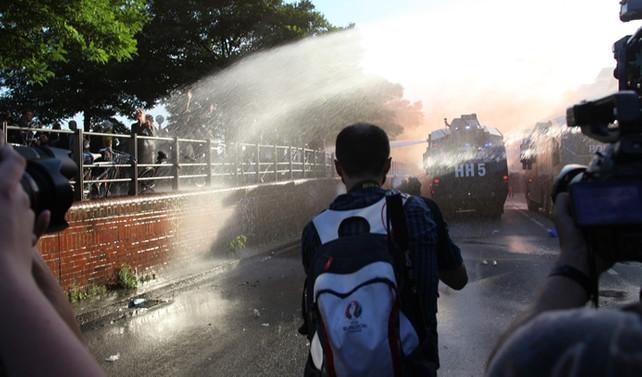 G20 öncesi polis müdahalesi