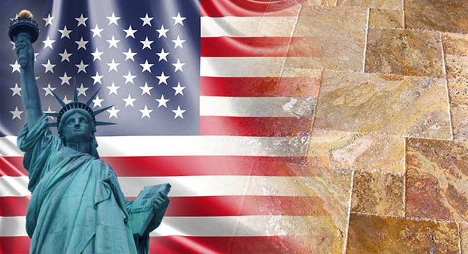 Amerika'daki konut projesi için traverten talep ediliyor