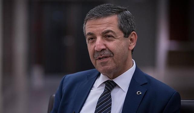 KKTC Dışişleri Bakanı Ertuğruloğlu: Barış içinde yaşamanın yollarını aramalıyız