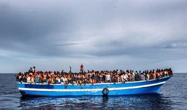 Akdeniz üzerinden Avrupa'ya 101 bin göçmen geçti