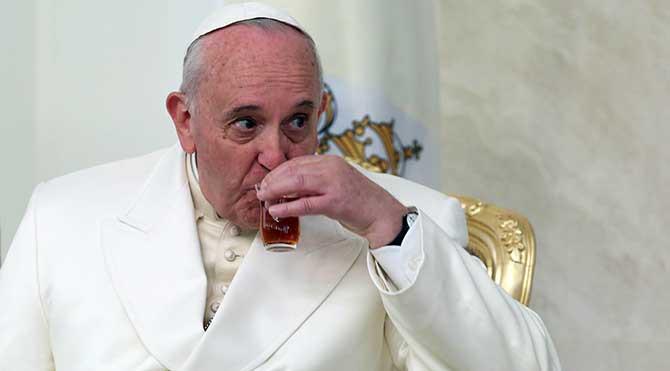 Papa'dan G-20'ye eleştiri