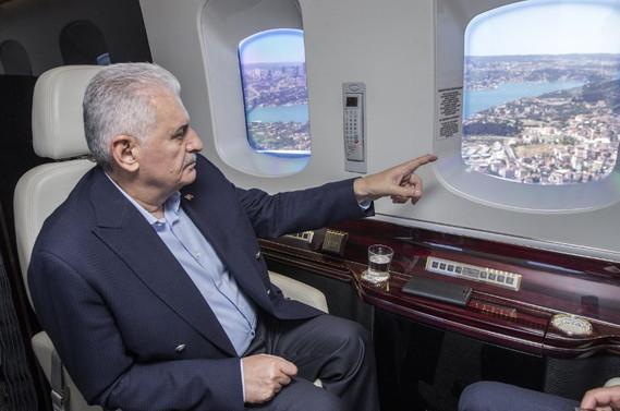 'Çukur verdik, havalimanı olarak alacağız'