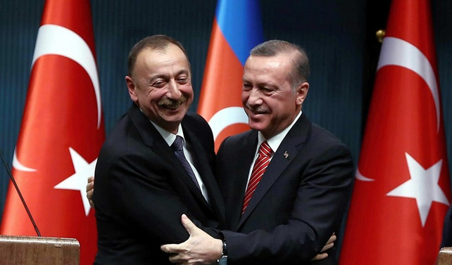 Erdoğan, Azerbaycan Cumhurbaşkanı Aliyev ile görüştü