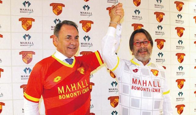 Mahall Bomonti, Süper Lige çıkan Göztepe'ye sponsor oldu