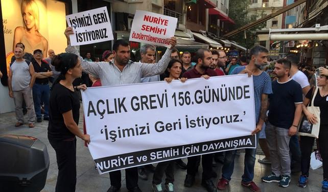 Kadıköy'de izinsiz gösteriye müdahale