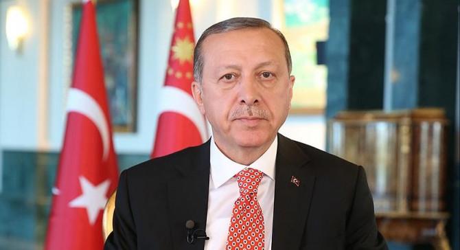 Erdoğan'dan tebrik telgrafı
