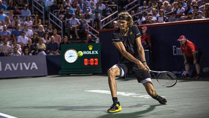 Rogers Cup'ta şampiyon Zverev