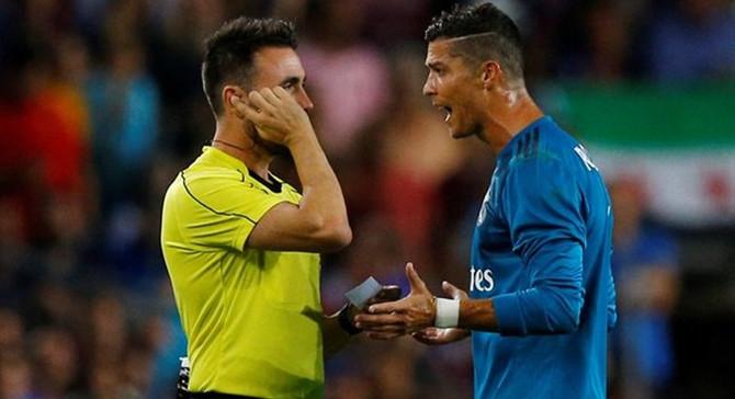 Ronaldo Süper Kupa rövanşında yok