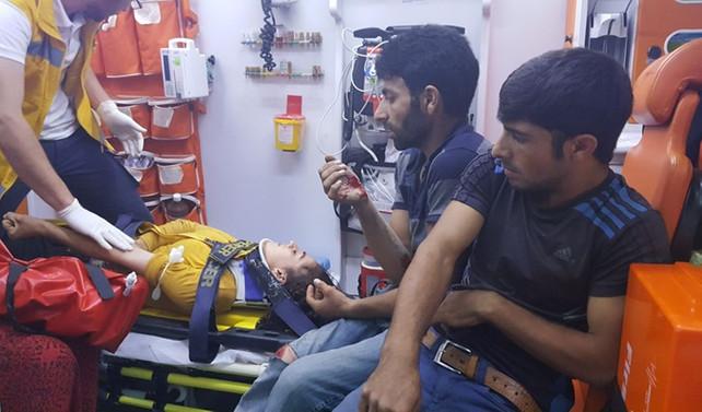 Düzce'de trafik kazası: 10 yaralı