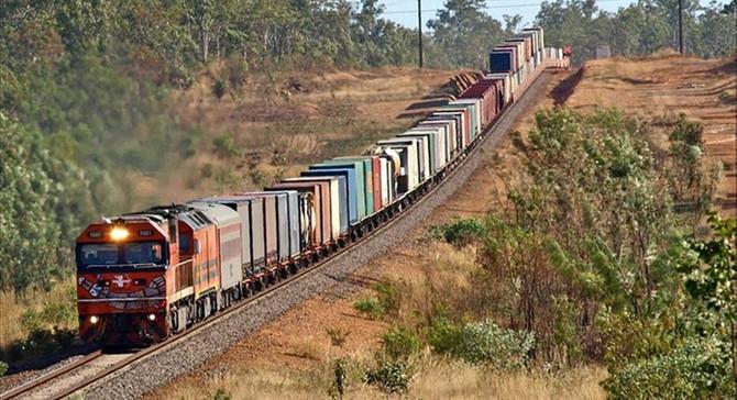 Avrupa'ya yeni konteyner treni