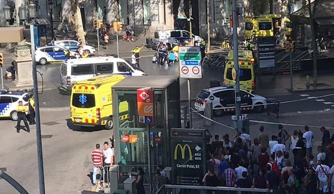 Barselona'da terör saldırısı: 13 ölü