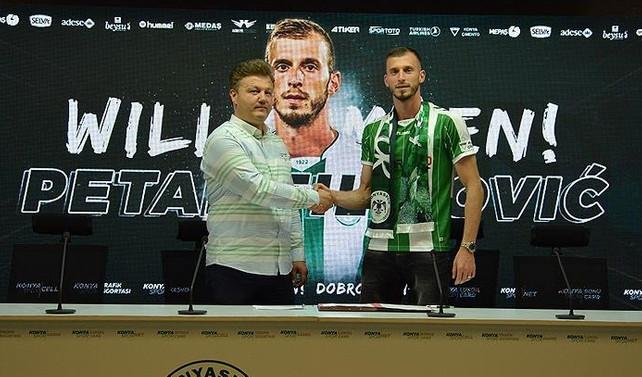 Petar Filipovic Atiker Konyaspor'da