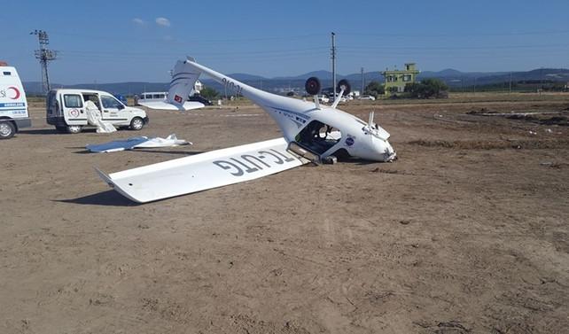 Troy Air Fest'te uçak kazası: 1 yaralı