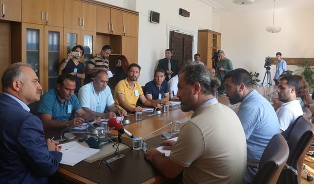 CHP'li Gök, Real işçilerini kabul etti